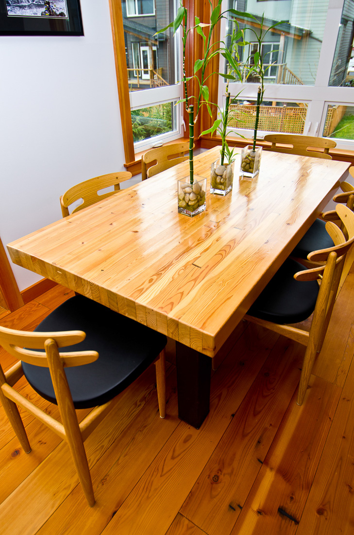 Dining Table and Chairs - custom furniture by Blueline Contracting