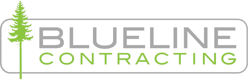 Blueline Contracting Logo - General Contractor in Squamish, Whistler and the Sea to Sky